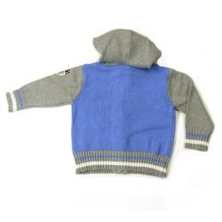 Babykleding Wintervest 'Great Outdoors' lichtblauw €19,95