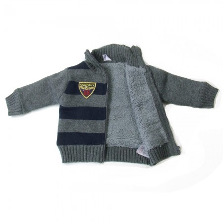 Babykleding Wintervest 'Limited Edition' kobalt €24,95