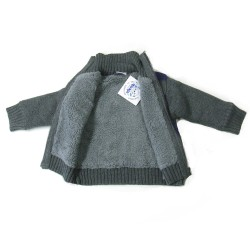 Babykleding Wintervest 'Limited Edition' navy € 24,95
