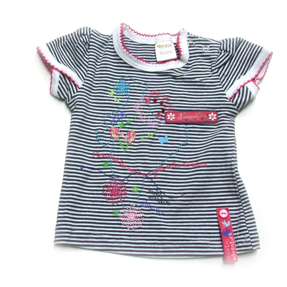 Babykleding T-shirt 'Beautiful Journey' € 6,95
