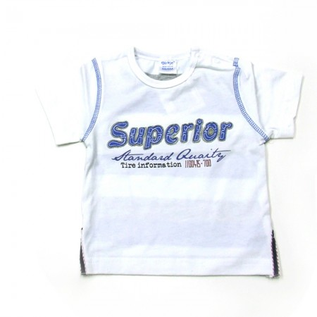 Babykleding T-shirt 'Superior' €8,95