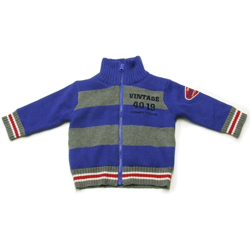 Babykleding Vest 'Vintage Blauw' €22,50