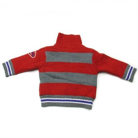 Babykleding Vest 'Vintage Rood' €22,50