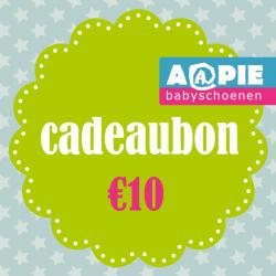 Feestartikelen Cadeaubon €10,- €10,00