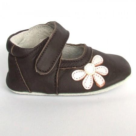 Babyslofjes Blossom Brown Pink €19,49