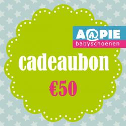 Feestartikelen Cadeaubon €50,- €50,00