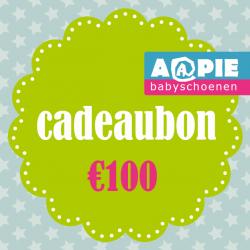 Feestartikelen Cadeaubon €100,- €100,00